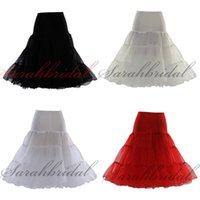 In Stock Cheap Colorful Red Petticoats Hoopless 3 Layer Tea ...