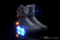 New Air Mag Shoes LED Light Charging Mens Marty McFly Fashio...