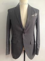 Western Style Blazers Man Suit Wedding Dresses Notched Lapel...