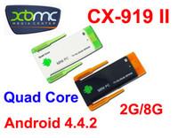 Quad core RK3188 Google Smart TV Box J22 / CX919II Android 4.4 2 Go de RAM 8 Go de ROM 1,8 GHz Max Bluetooth Wifi Google TV Player HDMI CX919 II