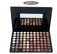 10pcs lot Professional Eye Shadow & Blusher Palette Powder M...