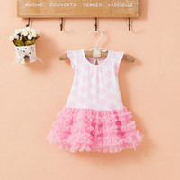 NEW ARRIVAL baby girl kids toddler Korean dress totem flower...