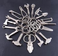 Новое прибытие Keychain металла регулируемый инструмент гаечный ключ гаечный ключ Creative