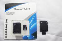 Tarjetas de memoria micro libres de la tarjeta TF de la tarjeta de la clase 10 SDHC de la tarjeta micro de 32GB 64GB 128GB con el adaptador libre del SD que empaqueta DHL libre 100pcs / lot