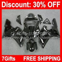 7gifts ALL Black Full Fairing Kit For YAMAHA YZF- R1 00- 01 YZ...