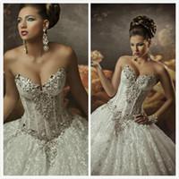 Wholesale Bling Corset Wedding Dresses - Buy Cheap Bling Corset ...
