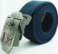 A18 Brand New Canvas Belt for Man Military U. S. A Eagle Belt ...