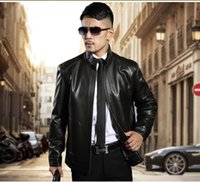 Special offer Warm Leather Jackets for men European Faux Thi...