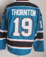 2015 Sharks #19 Joe Thornton Stitched Teal Jersey, Cheap Hock...