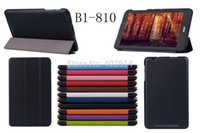 DHL Ultra Slim Magnetic Custer 3 Fold Fodling Folio Stand Le...