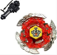 Beyblade 4D Launcher Top Set BB116C HELL CROWN 130FB Beyblad...