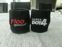 promotional cheap best selling wrist sweatbands custom desig...