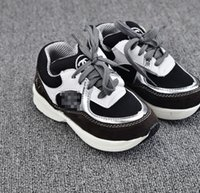 Shinning PU Leather Splicing Boys Casual Sneakers Prewalker ...