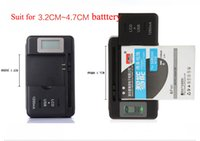 High quality universal mobile phone battery charger with LCD...