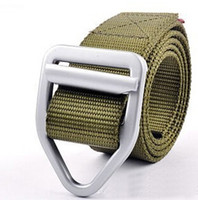Outdoor Sports Canvas Belt for Man smooth buckle Belts Alloy...