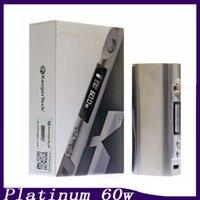 Box Clone Kanger Kbox Mini Platinum Mod E Cigarette variable Puissance 60W Temp contrôle Vape Mod Vs Kbox 120w Smok R80 R200 Kbox 70 0266051-1