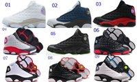 Discount Cheap Retro 13 Basketball Shoes 13 Colors Men Sport...