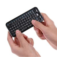 DHL shipping 2. 4GHz Mini Wireless Fly Keyboard with IR Remot...