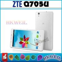 Original ZTE Q750U Quad Core MTK6582 Smartphones 1GB RM 4GB ...