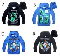 DHL 4- 14Y Big Children Boys hoody Minecraft JJ coolie Cartoo...