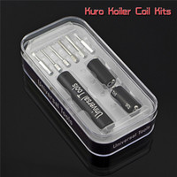 Outils Kuro Koiler Universal 6 en 1 Kits Coil Jig Coiler Winding Spirale Builder fil chauffant Wick outils pour le bricolage RDA Ecig DHL