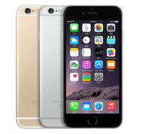 100% d'origine remis à neuf iPhone d'Apple 6 Téléphones portables 16G 64G IOS Or Rose 4.7