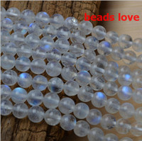 Pick Size 4. 6. 8 . 10MMmm Natural Moonstone Stone Round Loose ...