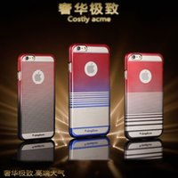 simplism Colorful electroplating plastic case for iphone 6 I...