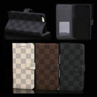 """for 4. 7"""" 5. 5"""" iPhone 6G 6 Plus 6+ Wallet Leather C..."""