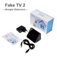 TV Attrappe Fake 2 Fernseh- Simulator Fernseher Attrappe Einb...