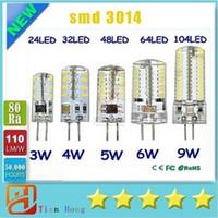 G4 12V 110- 220V LED Corn Lamp 3W 4W 5W 6W 9W LED Light 3014 ...