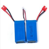 2pcs Original 7.4v 2000mah ronde enfichable batterie Li-po pour Syma X8c / x8w / x8g Rc Quadcopter drone