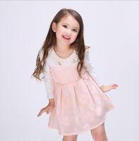 2016 Princess Girls Pure Cotton Dress Kids Clothes Flower Ho...
