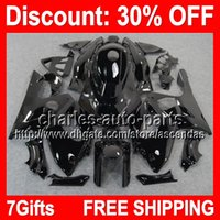 7gifts ALL Black Full Fairing Kit For YAMAHA YZF600R YZF 600...