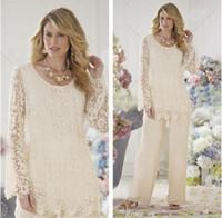 Lace dress formal pants
