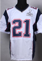 2015 Jerseys XLIX Jerseys #21 Jersey Blue White 49 Super Bow...