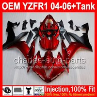 7gifts Injection Body For YAMAHA YZF- R1 04- 06 YZF R1 R 1 Dar...