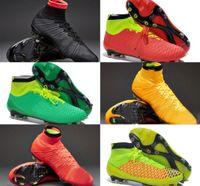 Botas de futebol ao ar livre, botas de futebol acc Superfly FG, Homens consideráveis magista chuteiras obra