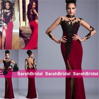 Janique Split Evening Dresses Long Full Floor Length Prom Pa...