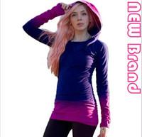 Hoodies e camisolas das mulheres Camisolas encapuçados da luva longa ocasional da mulher Camisola encapuçado das mulheres 2 color s-xl free shiping
