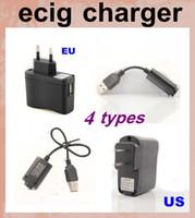 Câble USB de charge pour la cigarette électronique Cigarettes Vapor EGO E Cig Kit USB Cheap Prix USB puissance Chargeur Fit US Chargeur UE FJH02