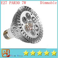 Par30 Led Light E27 Par30 7W 7- LEDS Spotlight Led Lamp Light...