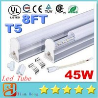 Super Bright 45W 8ft T5 Led Tubes Lights 2. 4m Integrated 192...