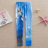 Cinderella leggings 2015 new children clothing girls legging...