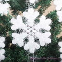 24cm christmas Snowflake String Decorations, christmas tree ...