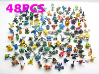NEW Military Figures child toys Cute Lots 48pcs 2- 3cm Pokmon...
