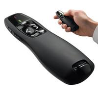 R400 2.4GHz Mini pointeur laser sans fil USB présentateur avec LED laser rouge PPT présentateur laser avec forfait au détail