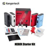 Kit de démarrage autonome Kangertech NEBOX avec Kanger Nebox TC VW 60W Box Mod 10ml Capacité Gif Box