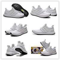 Originals Ultra Boost White Men' s Sports Running Shoes ...