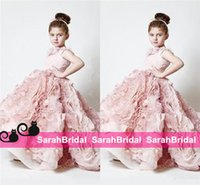 Exquisite Pink Flower Girls' Dresses for 2016 Wedding B...